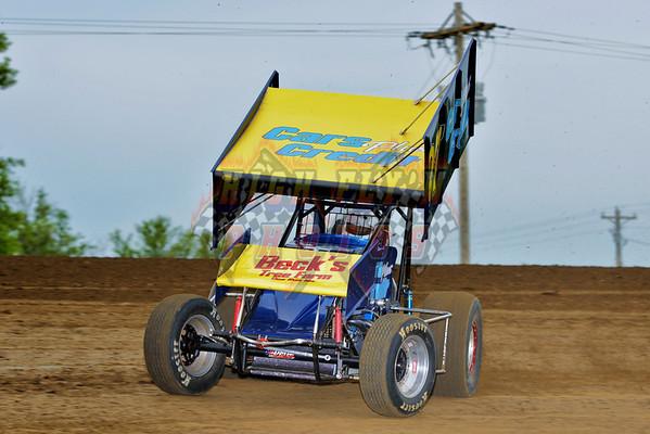 5-26-2014 Sprint Cars Danny Thoman Memorial Day CMS