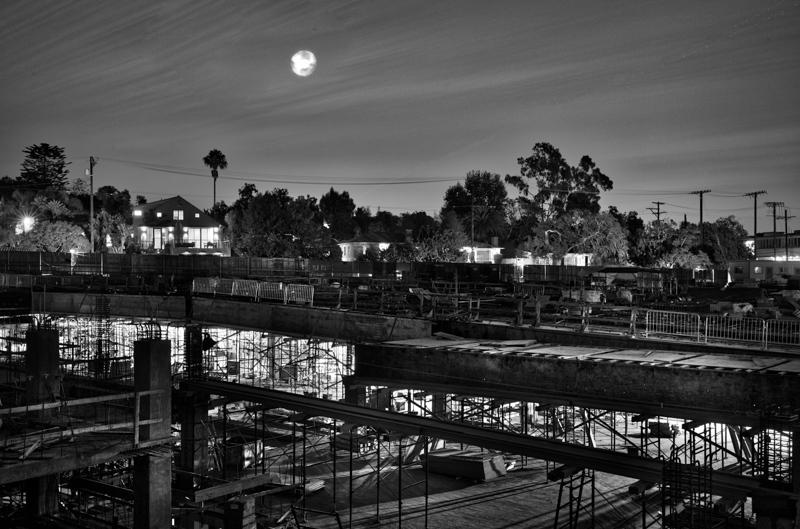 November 3 - Cloudy full moon over construction site.jpg