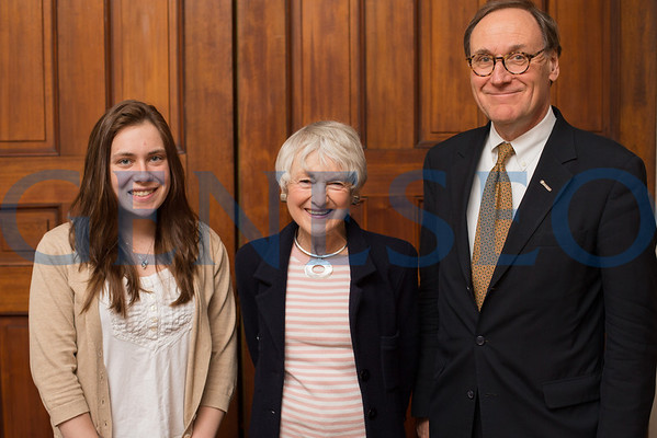 Suzanne Gouvernet and Erin O'Brien (Student Ambassador) Portrait