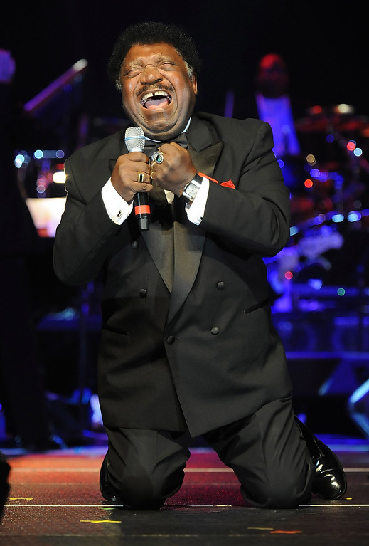 . Singer/Songwriter Percy Sledge performs at the Alabama Music Hall of Fame\'s 13th Induction Banquet and Awards Show at the Renaissance Hotel on March 25, 2010 in Montgomery, Alabama.  (Photo by Rick Diamond/Getty Images)