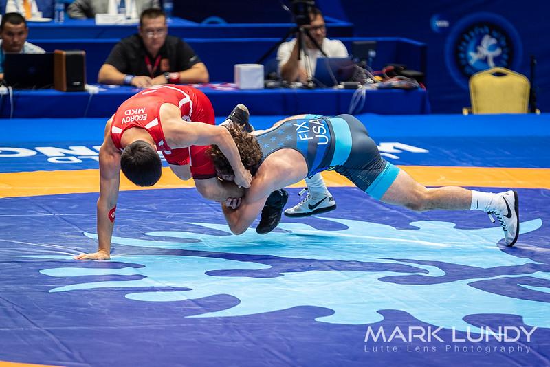 Champ. Round 2: Daton Duain Fix (United States) over Vladimir Egorov (North Macedonia)  •  TF 12-1 - 2019 World Championships