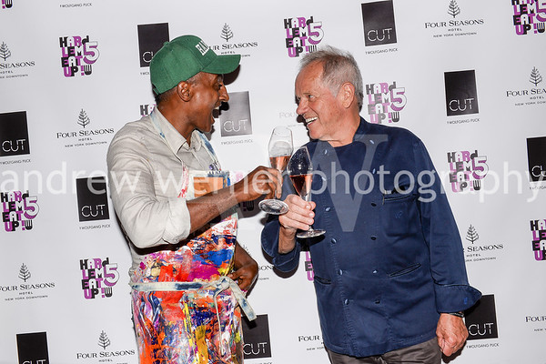 Wolfgang Puck x Marcus Samuelsson Event at CUT NYC 5.7.19