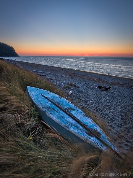 Fort Worden beach - Port Townsend, WA