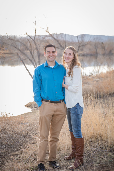 Ashley and Kevin Engagement at Golden Ponds