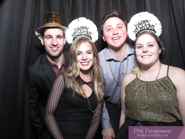 12/31/17 The Mirage NYE Photobooth Fun