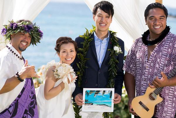 Congratulations Ayako & Hiroki!
