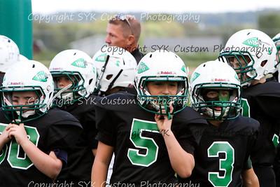 WB Little Warriors 4th Grade Football vs Salem
