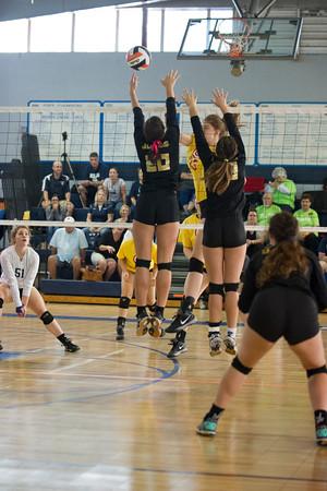 2016 TCH vs Ursiline Volleyball