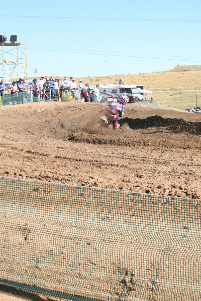 Dungey. He pushed the berm back about 3 feet during this.
