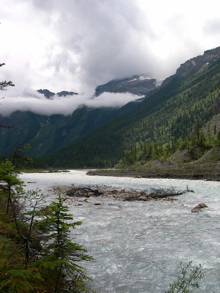The Other Five Hundred: Looking downriver in the valley of a thousand falls.