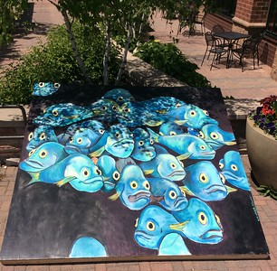 Chalk Art in Maple Grove