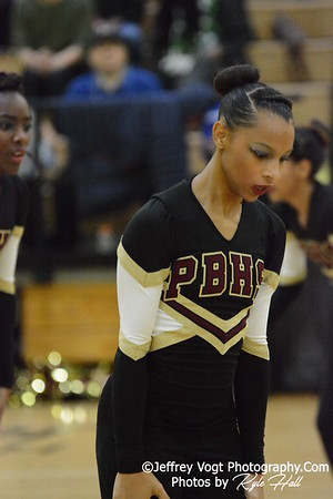 1-09-2016 Paint Branch HS Varsity Poms at Northwest HS, Photos by Jeffrey Vogt Photography with Kyle Hall