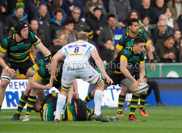 Northampton Wanderers vs Exeter Braves, Premiership Rugby A League Final, Franklin's Gardens, 30 April 2018