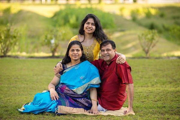 Namratha Pattabiraman Family