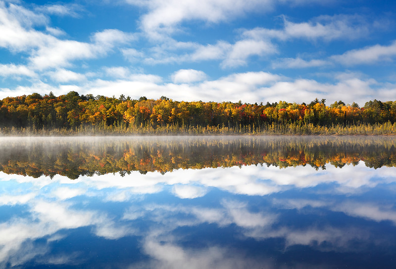 Fall Reflection II - Spruce Lake (Northern Highland American Legion State Forest - Wisconsin)