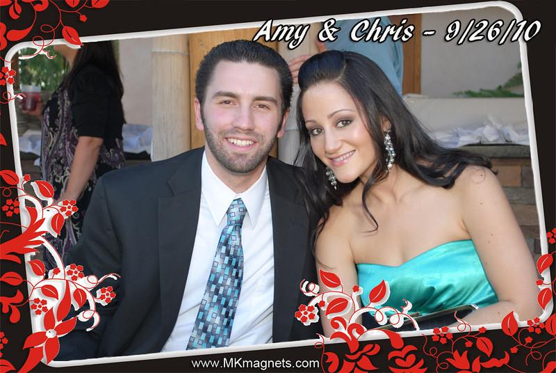 wedding magnet frame -black&red.jpg