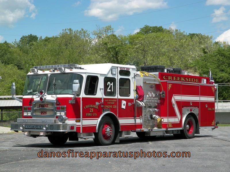 CREEKSIDE FIRE CO. EAST PENNSBORO TWP.