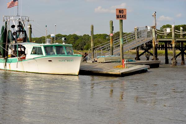 Jekyll Wharf Marina 09-28-11