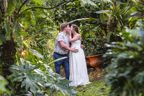 Glynne & David | Botanical Garden