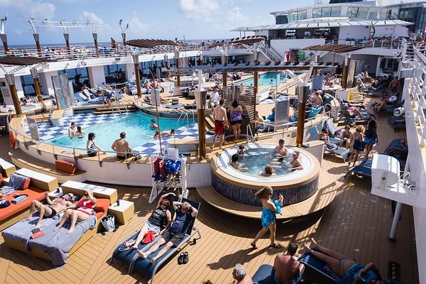 Celebrity Summit Cruiseship