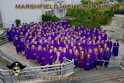 Marshfield High Graduation 2011