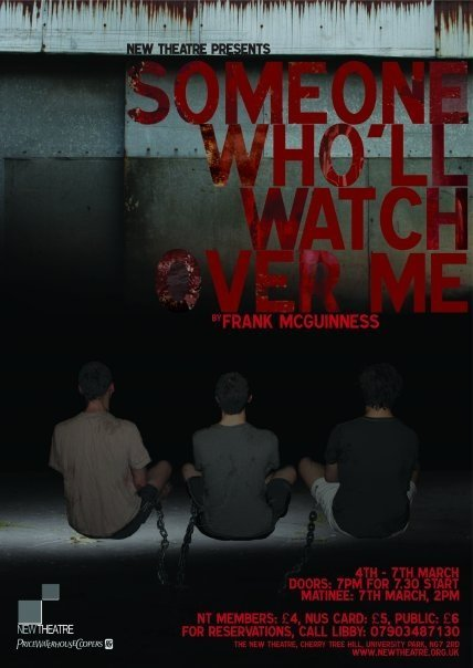 Someone Who'll Watch Over Me poster