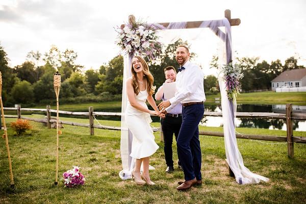 Meghan + Jordan: Micro Wedding