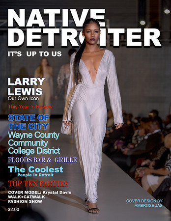 Cover Native Detroiter Mag