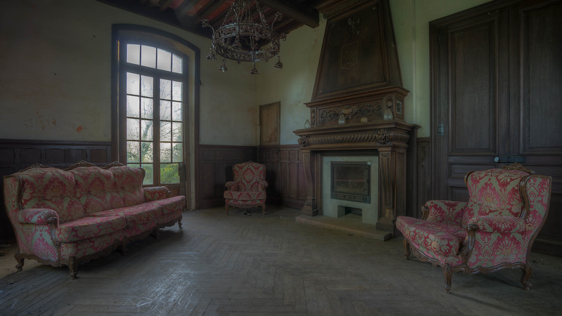 Urbex - Chateau Sanglier (FR)