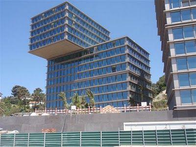 Imar Expanded Alu Soffit in Portugal