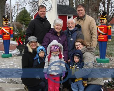 Houff family, Thanksgiving 2013