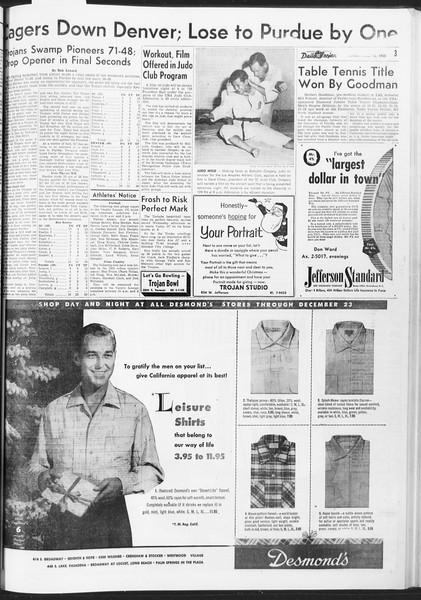 Daily Trojan, Vol. 47, No. 59, December 12, 1955