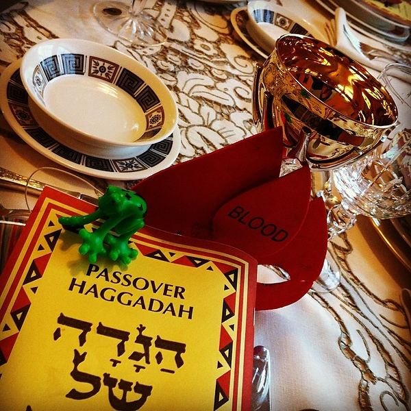 Table is ready. #Passover