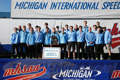 Team Awards, D3 BOYS - 2016 MHSAA LP XC FINALS