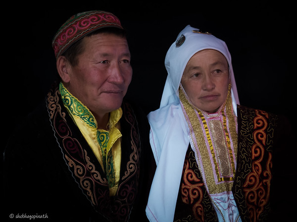 Bashakhan and wife