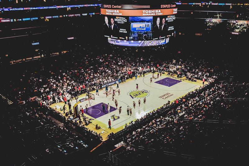 Lakers Games Fuji X100T