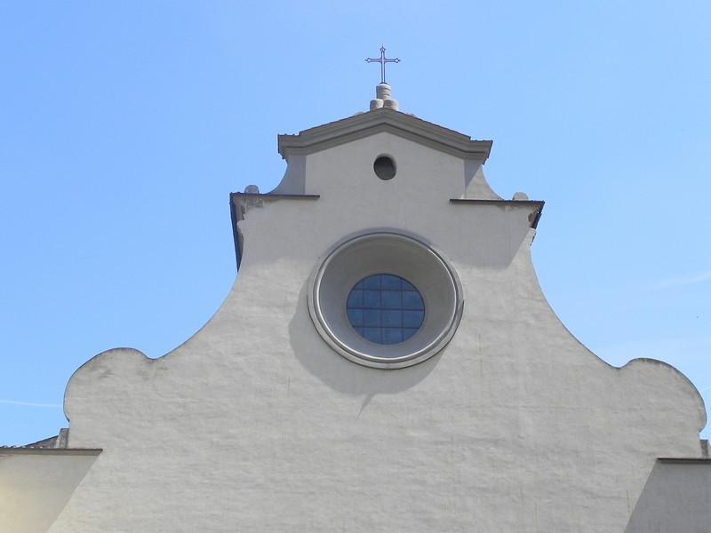 San Spirito Church on Piazza Della Palla by Brunelleschi 2.jpg