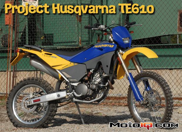 Project Husqvarna TE610 Part 1: Dual Sport Adventure Bike Options