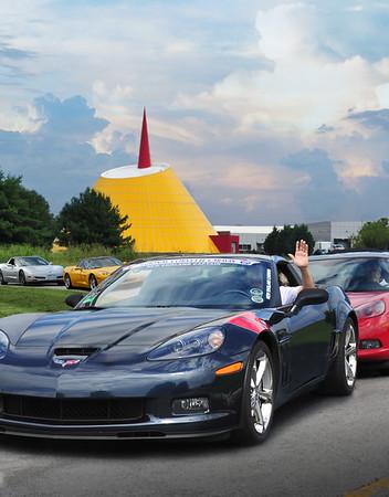 Corvette Caravan & Anniversary
