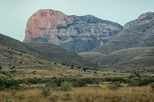 2013-11-11 El Capitan, Guadalupe Mountains National Park- DDH