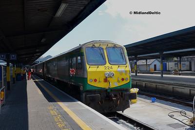 Portlaoise / Dublin (Rail), 14-07-2018
