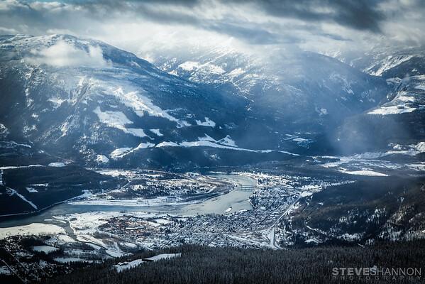 Winter Town Photos