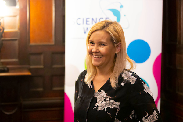 FREE TO USE IMAGE. Pictured during Science Week with WIT (Waterford Institute of Technology) by Calmast at PubHD at The Munster Bar. Pictured is Emma Maguire PHD Candidate in Business. Picture: Patrick Browne