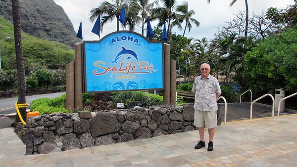 Sea Life Park Oahu Hawaii March 2012