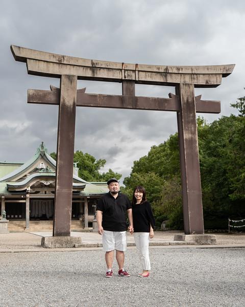 Osaka Catsle Couple