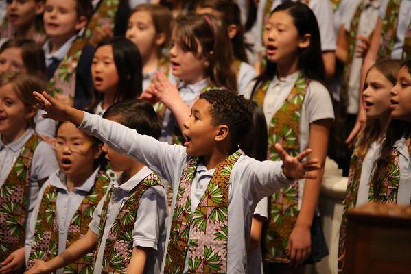 20160225 AAHM Gospel All-School Chapel