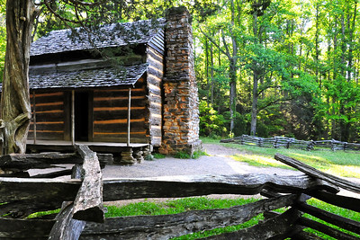 John Oliver Place in Cades Cove