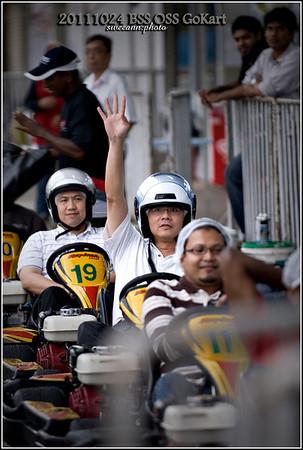 20111024 - BSS OSS Go Kart Outing