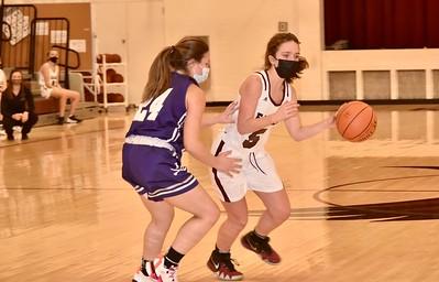 AMHS Girls Varsity Basketball vs Brattleboro photos by  Gary Baker