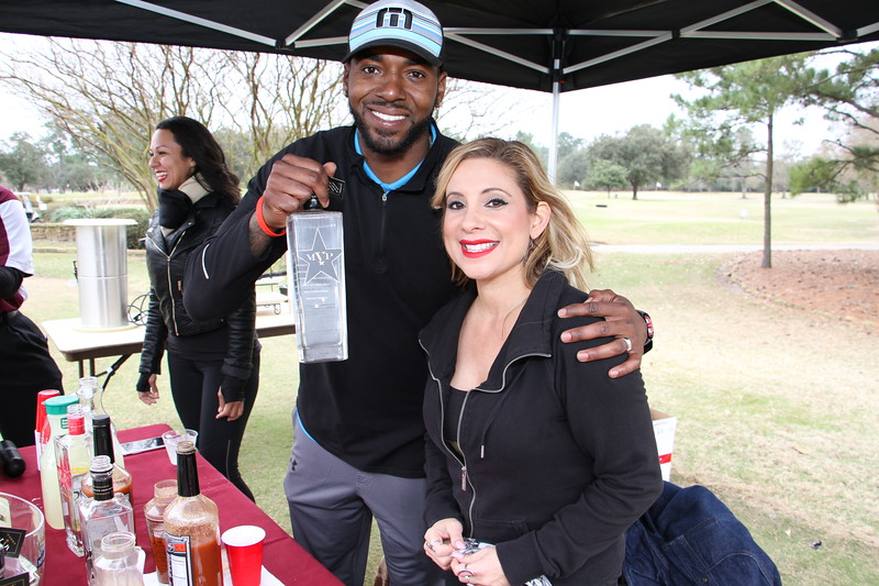 Super Friday Celebrity Golf Classic with  Kivon Fastforward , A Game and MVPN Vodka Superbowl Weekend
